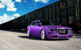 chrysler car chrysler purple car hd wallpaper expensive cars hd wallpaper