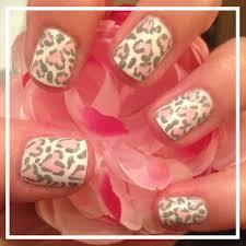leopard print beginnersnailart u0027s blog