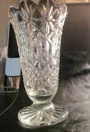 Colored Crystal Vases Waterford Crystal Vase Ebay