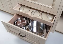 Kitchen Cabinet Storage Options Pots Pans Lids Storage Organization Options For Cabinetry