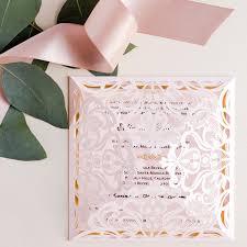 wedding invitations gold foil foil wedding invitations