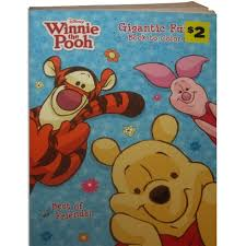 winnie pooh friends gigantic coloring book