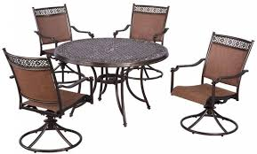 Sling Patio Dining Set Sling Patio Set Home Design Ideas And Pictures