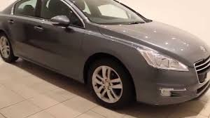 used peugeot diesel cars used peugeot 508 1 6 active e hdi automatic diesel youtube