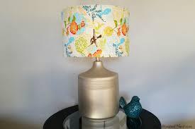 Lamp Shades Diy Easy Diy Way To Revive An Old Lamp Shade