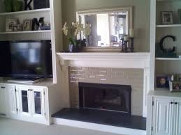 Built In Cabinets Living Room by Fireplace With Built In Bookshelves Custom Trimwork And
