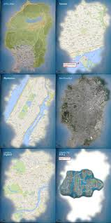London On World Map by Gta V U0027s World Map Is Just As Big In Scale As Major Cities Like