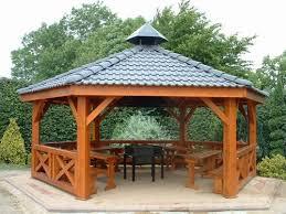tonnelle de jardin en bois photo piscine tonnelle de jardin