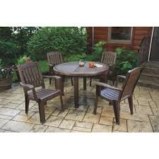 Brentwood Patio Furniture Adams Brentwood Round Table 8122 60 9700 Do It Best