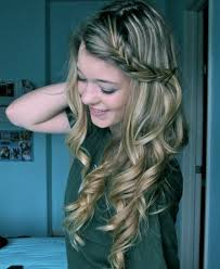 cute hairstyles with curly hair 56 cute hairstyles for the girly girl in you hairstylo