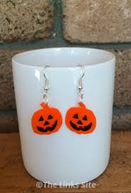 plastic halloween earrings the links site