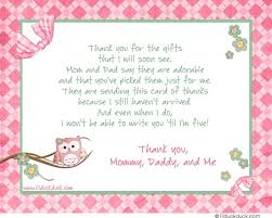 thank you baby shower what to write in thank you cards for baby shower flogfolioweekly