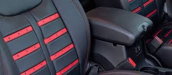 Vehicle Leather Upholstery Cashing In On Leather Seat Covers