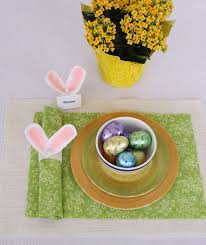 easter napkin rings diy easter bunny ears napkin ring and place card holder