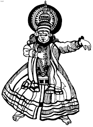 dances of india coloring pages page 3 of 4 kids website for