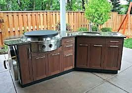 outside kitchen cabinets outdoor refrigerator lowes outdoor kitchen image of outdoor kitchen
