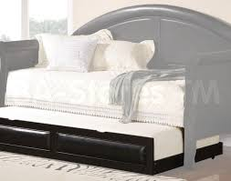 White Wood Daybed With Trundle Bedroom Glamorous Sleigh Daybed With Pop Up Trundle White Wood