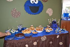 cookie monster table decorations cookie monster birthday party ideas photo 4 of 29 catch my party