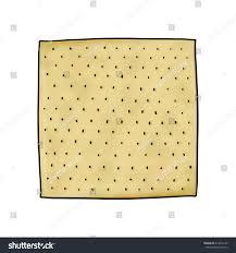 matzo unleavened bread matzo illustration unleavened flat bread passover stock