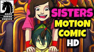 the last thanksgiving cartoon avatar the last airbender sisters 2015 full motion comic hd