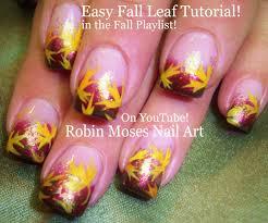 robin moses nail fall leaves fall nails fall nail trends