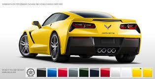 2014 corvette colors 2014 chevrolet corvette stingray color configurator goes