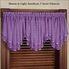Light Purple Curtains Interiors Fabulous Light Purple Valance Curtains Purple Tier