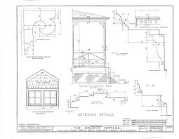 colonial saltbox wood frame architectural house plans blueprints
