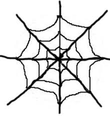 spider outline clip art library