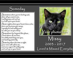 cat memorial cat memorial etsy