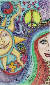 hippie volkswagen drawing 336 best art hippie images on pinterest hippie art hippie