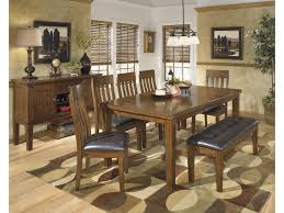 Butterfly Leaf Dining Room Table by Benchcraft Ralene Casual Rectangular Butterfly Leaf Dining Table