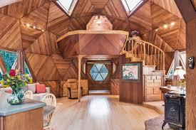 geodome house guerneville geodesic dome home asks 475k curbed sf