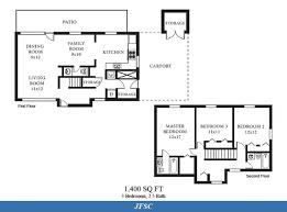ns norfolk u2013 jfsc neighborhood 3 bedroom 2 5 bath home floor plan