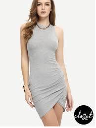 sleeveless dress ribbed sleeveless dress closet co