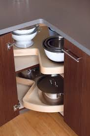 Storage Solutions For Corner Kitchen Cabinets Corner Base Cabinet Options Kitchen Storage Space Ideas
