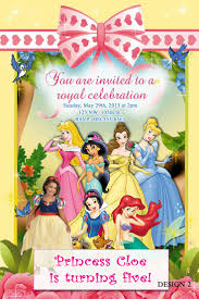 60 best disney princess birthday invitations and party supplies