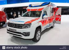 new volkswagen car new volkswagen amarok ambulance car stock photo royalty free