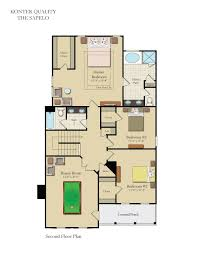 Country Club Floor Plans Bluffside At Country Club Creek New Homes Homebuilding Custom