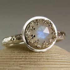 Moonstone Wedding Ring by Beautiful Handmade Engagement Ring Ideas
