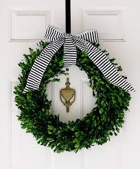 boxwood wreath boxwood wreath instant front door makeover