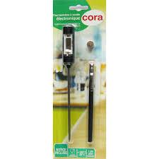 sonde de cuisine cora thermomètre de cuisine à sonde houra fr