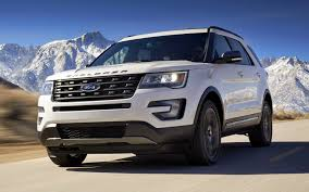 ford explorer xlt sport appearance package 2017 wallpapers and
