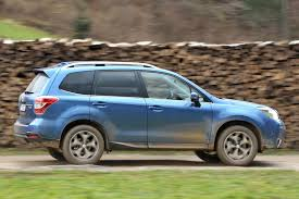 white subaru forester 2015 subaru forester by car magazine