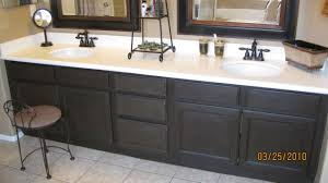 Paint Bathroom Vanity Ideas by Our Bathroom Cabinet Makeover With Caromal Colours Refinishing