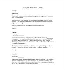 sample thank you letters to doctor