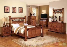 Country Bed Sets Amazing Country Bedroom Sets Sonoma American Oak Poster Set With