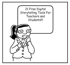 18 free digital storytelling tools for teachers and students
