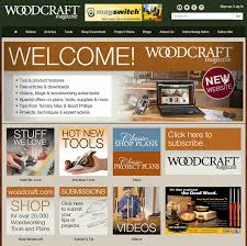 Woodworking Plans Projects Magazine Subscription by Woodcraft Magazine Unveils New Website