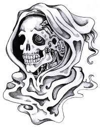 48 horrifying grim reaper tattoo designs
